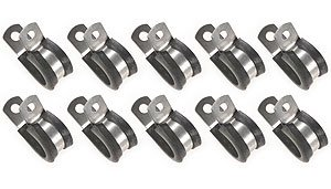 JEGS Performance Products 82035 Stainless Steel Cushion Clamps