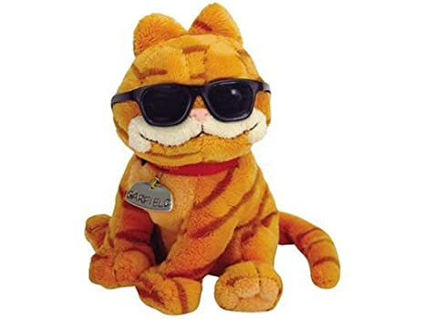 42ad031ea72 Amazon.com  Ty Cool Cat - Garfield with Sunglasses  Toys   Games