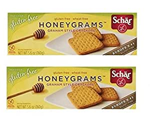 Schar Cookie Honeygrams, 5.6-Ounce (Pack of 2)