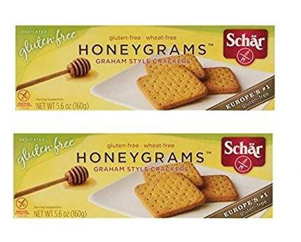 Schar Cookie Honeygrams, 5.6-Ounce (Pack of 2)