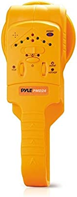 Center Location LED and Audible Alerts Pyle PMD24 Handheld Stud//Metal Voltage Detector with Sensitivity Adjustment