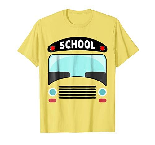 School Bus T-Shirt Funny Halloween Costume -