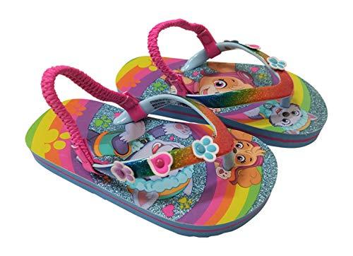 Paw Patrol Girls Flip Flop Slippers