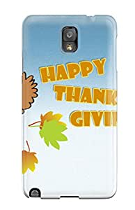 GKIKFVA11167xXpQy Case Cover Thanksgivings Galaxy Note 3 Protective Case