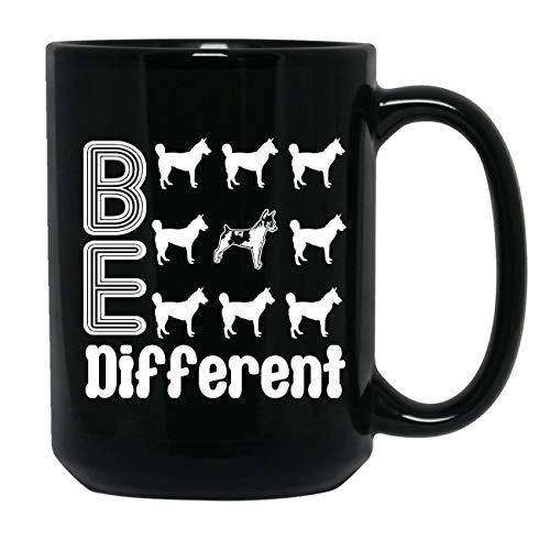Rat Terrier Be Different Mug, Ceramic Coffee Mug, Tea Cups 15 oz