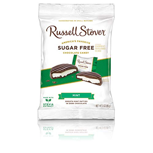 (Russell Stover Sugar Free Mint Patties, 3 oz)