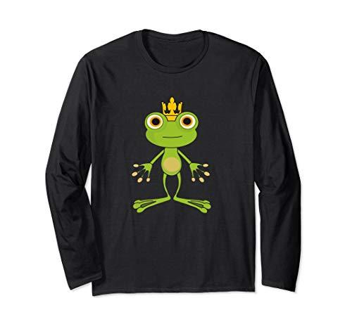 - Frog Prince Tshirt Cute Green Frog Design