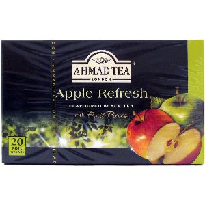 Ahmad Herbal Tea Bags, 20 Bags( Pack of 2) (Apple)