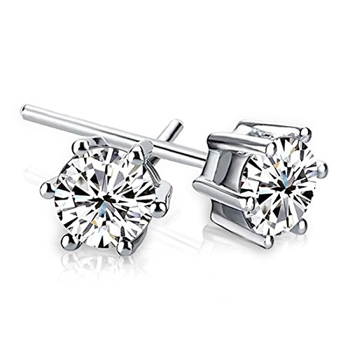 Starista Jewelry Sterling Zirconia Earrings