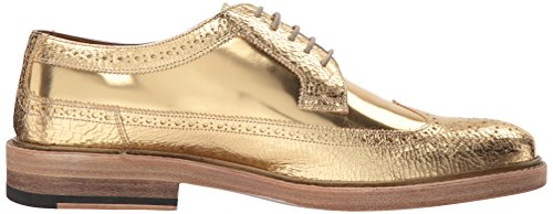 Marc Jacobs Hombres Metallic Oxford Gold Oxford 43 (us Hombres 9) M