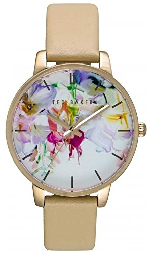 Ted Baker Women's 10026453 Classic Analog Display Japanese Quartz Beige Watch