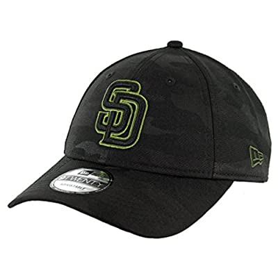 New Era 920 San Diego Padres Memorial Day 2018 Strapback Hat (BK) Men's Cap