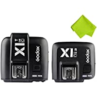 Godox X1C TTL Wireless 2.4 G Flash Remote Trigger Transmitter + Receiver for Canon EOS series cameras (X1C KIT)