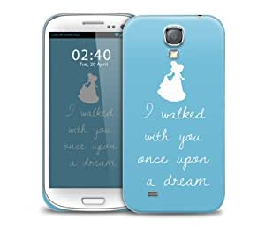 sleeping beauty once upon quote Samsung Galaxy S4 GS4 protective phone case