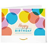 Amazon Gift Card - Print - Happy Birthday Balloons