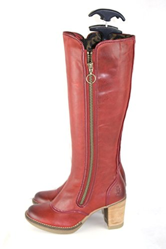 Fly London, Damen Stiefel & Stiefeletten  rot rot