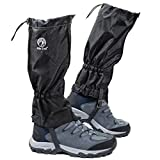 Pike Trail Leg Gaiters - Waterproof and Adjustable Snow Boot Gaiters for Hiking, Walking, Hunting, Mountain Climbing and Snowshoeing
