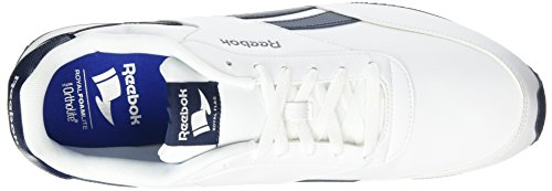Homme Chaussures white Navy Sport 2l Cl De Jog collegiate Reebok Royal Blanc R70IwqIT