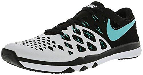 Nike Mens Treno Velocità 4 Scarpa Da Corsa Bianco / Iper Giada - Nero