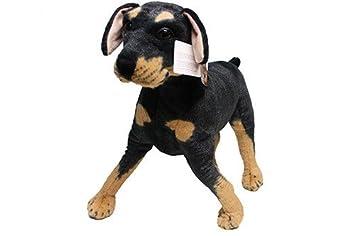 New Stuffed Toys The Doberman Pinscher Dog Simulation Plush Toy