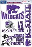 NCAA Kansas State University Multi Use Decal, 11 x 17''