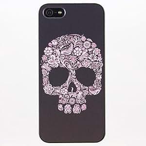 ZXM-Patrón del hueso Flor PC caso duro para el iPhone 5/5S