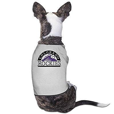 Colorado Rockies Logo Dog's Fashion Cute Comfortable Clothes