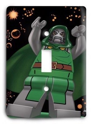 New Avenger lego Light Switch Cover