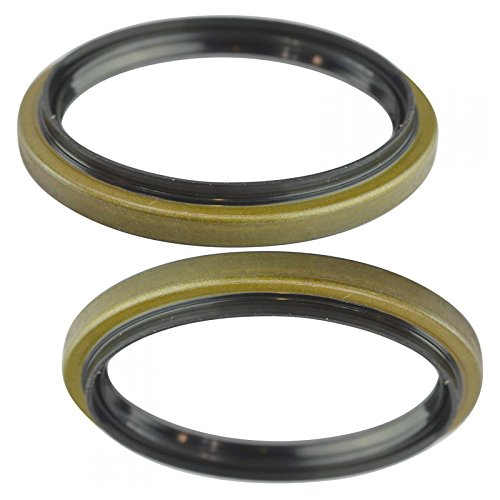 96 Ford F350 Front Wheel - Front Wheel Seal LH Driver & RH Passenger Side Pair for Ford Truck Pickup