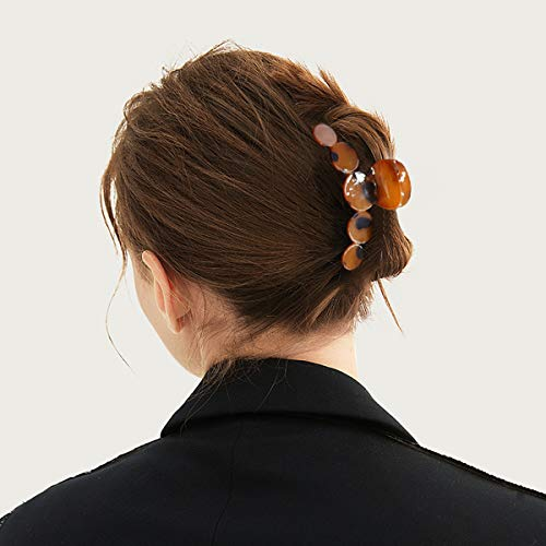 Hair Claw Clips for Women and Girls, Including 4 Styles Of Hair Clips, Large Hair Clips Can Hold All Hair Types, Suitable For Straight Hair And Curly Hair