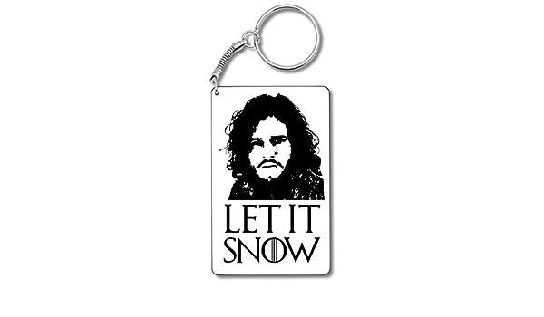 Jon Snol Let It Snow Llavero Llavero: Amazon.es: Equipaje