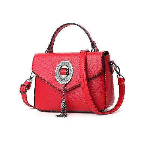 Bolsos color Rojo Totalizador Gris Manera Diseñador De Eeayyygch Mujeres Del Las La Taleguilla Tamaño Hombro dB6qPH