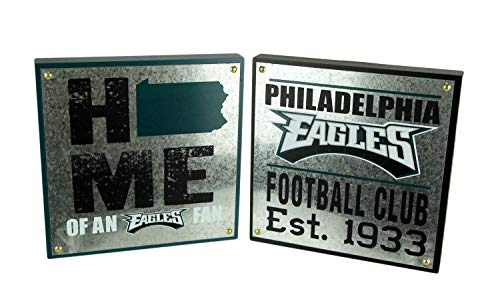 Maurice Sporting Goods NFL Philadelphia Eagles Football Club and Home State Wall Hangings