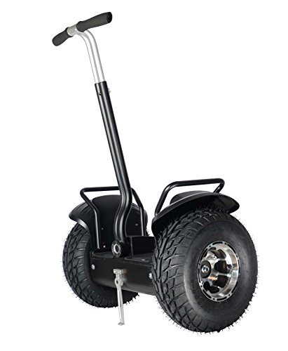 Smart Self Balance Scooter Personal Transporter 19 inch All Terrain Tires (Black)