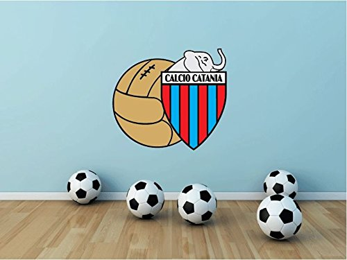 Calcio Catania Italy Soccer Football Sport Art Wall Decor Sticker 25'' X 22'' by postteam