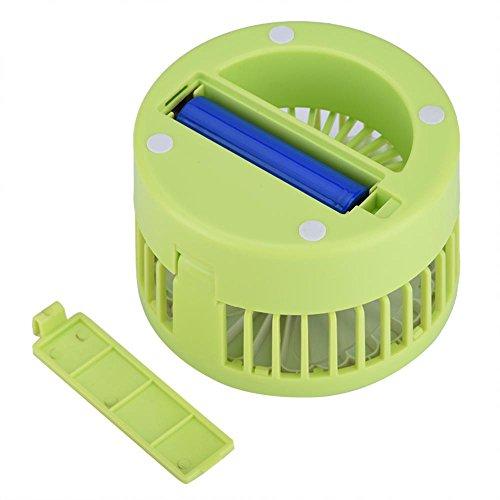 fosa Mini USB Desk Cooling Fan, Lemon Style Air Circulator Fan 3-level Adjustment Powerful Wind USB Desktop Fan for Home Office School(Green) by fosa (Image #7)