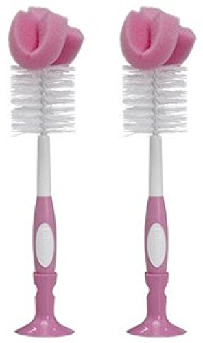 Dr. Browns Baby Bottle Brush - Pink - 2 Count by Dr. Brown's