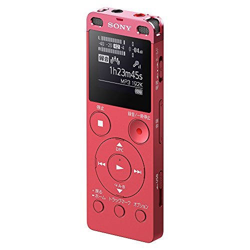 (Sony Stereo IC Recorder 4GB with FM Tuner Pink ICD-UX560F / P)