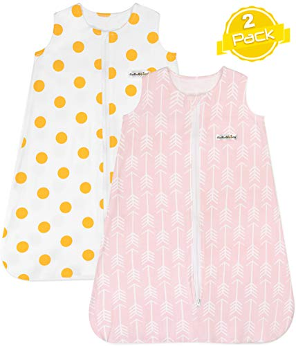 Sleep Bag Set for Baby Girls | Size XL (18-24 Months) | Wearable Blankets | Baby Sleeping Bag |