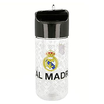 Real Madrid Botella cantimplora tritan hidro pequeña 430 ml (STOR 01736): Amazon.es: Juguetes y juegos