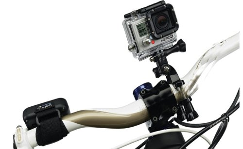 Bicycle//Bike Handlebar Bar Seatpost Pole Mount with 3-way Pivot Arm Assembly for Gopro Hero 1//2//3 Camera