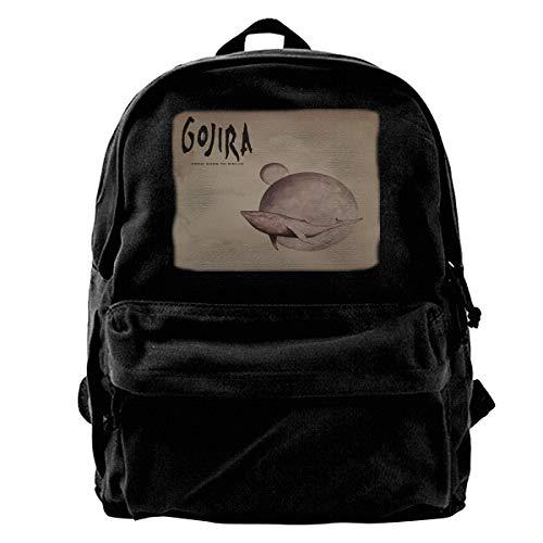 Gojira L'Enfant Sauvage Pattern Backpack Lightweight Multi-Function College School Laptop Bookbag