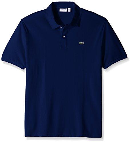 Lacoste Men's Short Sleeve Classic Pique Slim Fit Polo Shirt, Ocean, XXX-Large ()