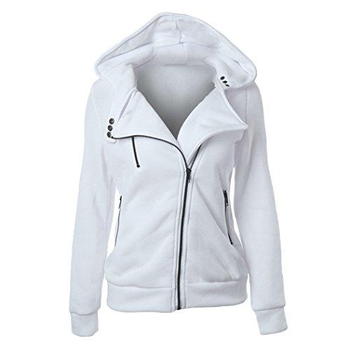 MTTROLI - Sudadera con capucha - para mujer blanco