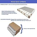Greaton 4-inch Assembled Split Wood Box