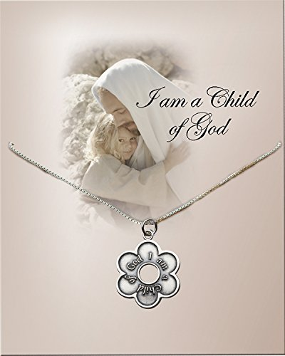 Girl's First Communion or Baptism Sterling Silver