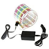 EVa Car Sticker Music Rhythm LED Flash Light Lamp Sound Activated Equalizer