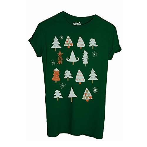 T-Shirt WINTER TREE XMAS PATTERN - MUSH by iMage Dress Your Style