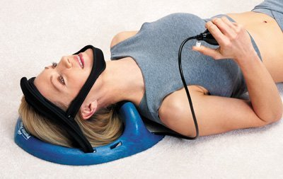 Gets to the cause of neck stiffness & discomfort fast - Posture Pump 1000 Cervical Back Disc Traction Hydrator