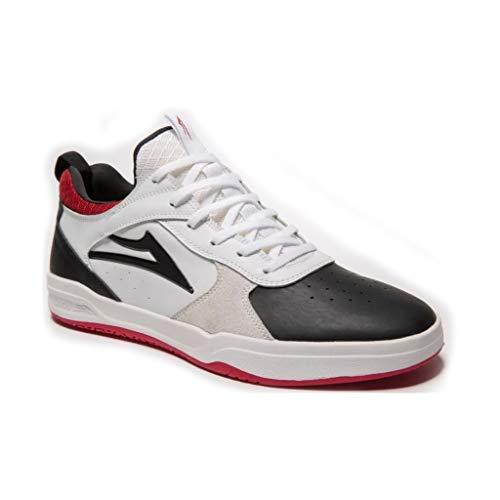 Lakai Skateboard Shoes Tony Hawk Proto White/Black Suede Size 9